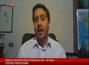 Stefano Piergiovanni a Skytg24 Economia