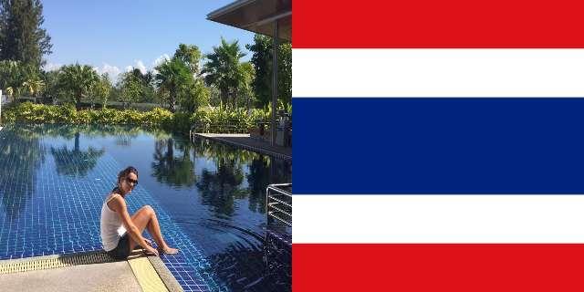 Michela in Tailandia per lavoro