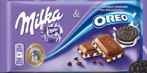 Barretta di cioccolata Milka Oreo