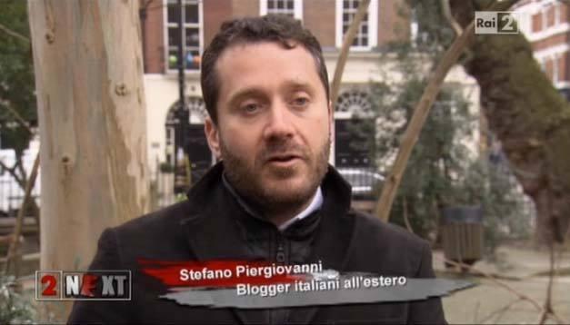 Stefano Piergiovanni e Viviallestero.com su Rai2