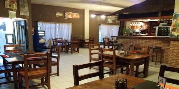 Vendesi pizzeria italiana a Fuerteventura - Interno