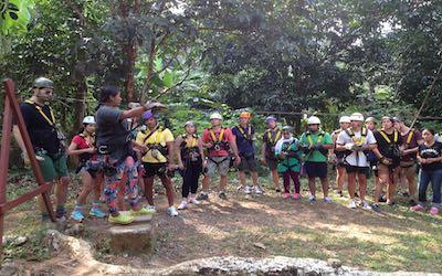 Vendesi parco avventura in Thailandia - Attrazione