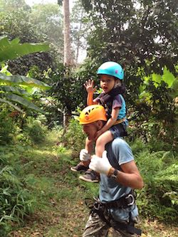 Vendesi parco avventura in Thailandia - Bambini