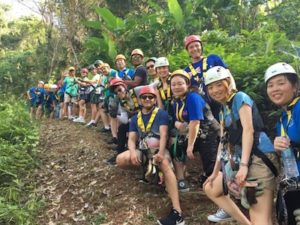 Vendesi parco avventura in Thailandia - Clienti