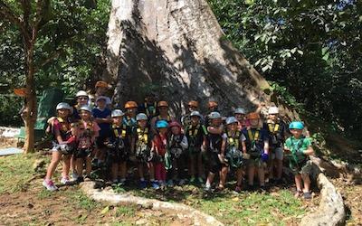 Vendesi parco avventura in Thailandia - Gruppo