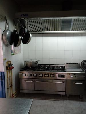 Vendesi ristorante italiano a Capo Verde - Cucina