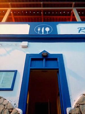 Vendesi ristorante italiano a Capo Verde - Entrata