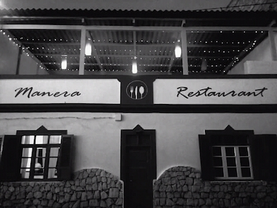 Vendesi ristorante italiano a Capo Verde - Terrazza