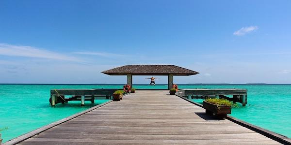 Si assume un organizzatore di eventi alle Maldive