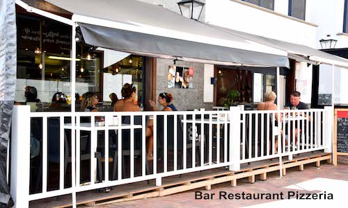 Vendesi 3 bar nell'isola di Lanzarote (Canarie) - Terrazza