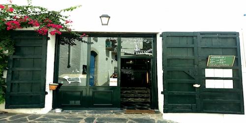 Vendesi ristorante in Costa Brava - Entrata