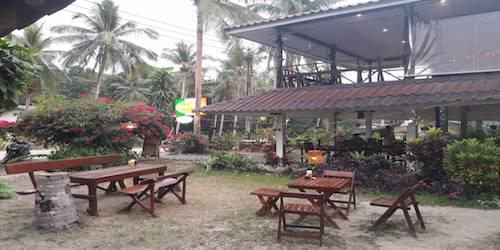 Vendesi ristorante italiano in un'isola thailandese - Giardino