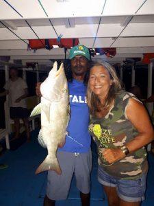 Sara alle Maldive