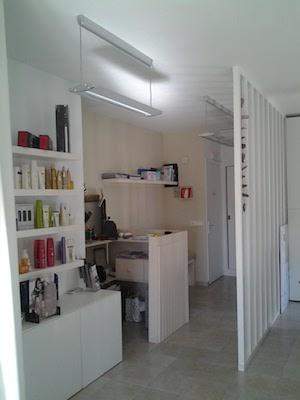 Vendesi negozio di parrucchiere a Formentera - Cassa