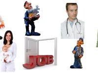 Offerte di lavoro all'estero divise per settori lavorativi
