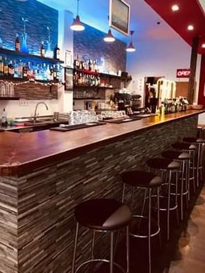 Vendesi bar caffetteria a Malaga - Bancone