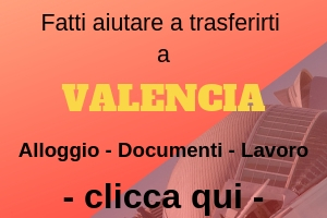 Pacchetto un aiuto a trasferirsi a Valencia