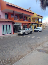 Vendesi bar a Capo Verde - Locale esterno