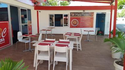 Vendesi pizzeria nella Repubblica Dominicana - Esterno