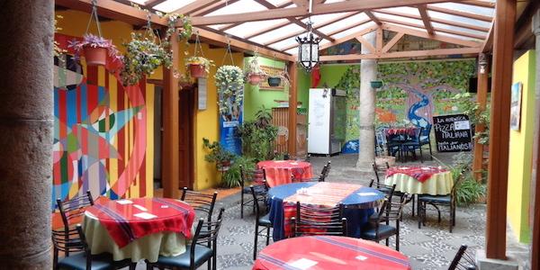 Si cede pizzeria italiana nel centro storico di Quito in Ecuador