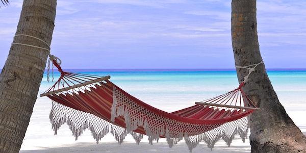 Vendesi bar sulla spiaggia a Mauritius