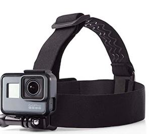 Porta telecamera da testa