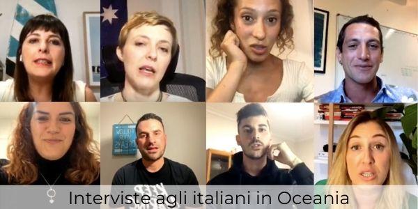 Interviste agli italiani in Oceania