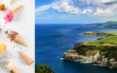 Vendesi gelateria alle isole Azzorre