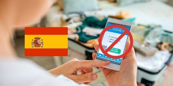 È obbligatorio il Green Pass in Spagna? No, è un paese libero