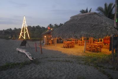 Vendesi piccolo eco-resort in Messico - Sera